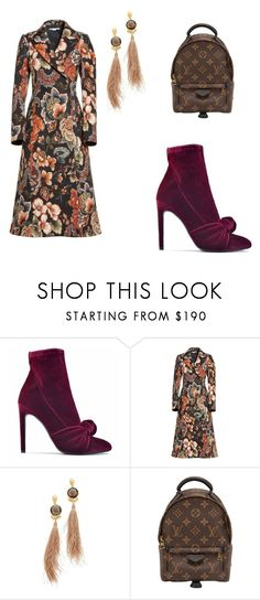 """Untitled #23"" by veniad ❤ liked on Polyvore featuring Giuseppe Zanotti, STELLA McCARTNEY, Gas Bijoux and Louis Vuitton"