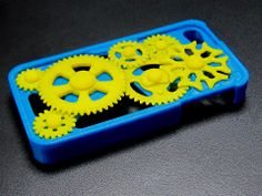 A 3D printed iPhone 4s case. You can have it customized, whatever design you desire! (smartphone cases for iPhone 5, 5s, Galaxy S3, S4 etc also available)