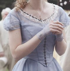 Alice's blue dress picture