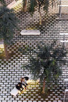 miba, Adrià Goula · Pasqual Maragall Foundation Plaza #landscapearchitecture
