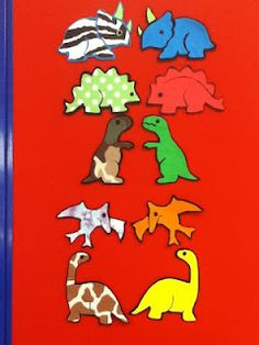 Piper Loves the Library: We are the Dinosaurs! Flannel Board Stories, Felt Board Stories, Felt Stories, Flannel Boards, Children Stories, Children Books, Dinosaurs Preschool, Preschool Literacy, Preschool Crafts