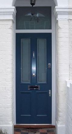 Victorian front door fitted with Banham Locks - Cotswood Doors