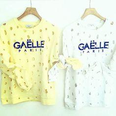 Il sole d inverno!! #yellow #newcollection #felpe #GaelleParis #nuoviarrivi #pegboutique #DISPONIBILEINBOUTIQUE