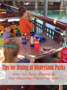 Tips for Dining at Disneyland Parks: Save Money and Our Favorite Places to Eat