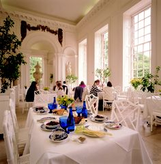 The Orangery at Kensington Palace, London - where Tim & I had an amazing afternoon tea