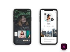 20  Mobile App Profile Screen UI Design