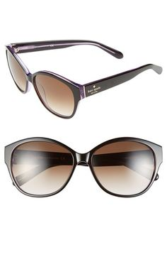 kate spade new york 56mm sunglasses available at #Nordstrom