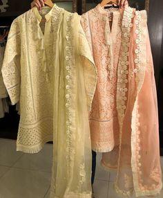 Discover thousands of images about Organza kurta Pakistani Fashion Casual, Pakistani Dresses Casual, Pakistani Wedding Outfits, Pakistani Dress Design, Indian Dresses, Indian Outfits, Nice Dresses, Casual Dresses, Fashion Dresses