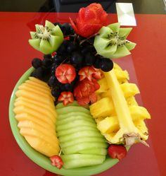 Un regalo diferente y saludable ;) Charola de fruta. #fruta #regalo $80