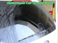 Homemade Car Screen Wash Fluid - LivingGreenAndFrugally.com