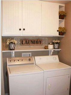 77 DIY Small Laundry Room Organization Ideas