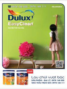 SONNHA.DEP.ASIA Bảng màu sơn Dulux Easy clean