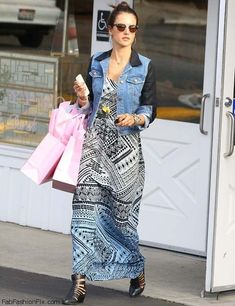 Style Watch: How celebrities wear the maxi dress for spring style?