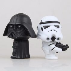10cm Q Style Star War Darth Vader & STORM TROOPER Action Figure Model Toy Come with Retail Box