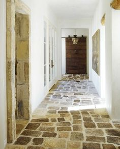Stone flooring from Chateau Domingue