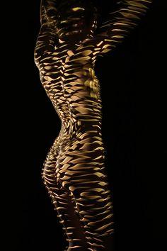 New Body Art Sculpture Inspiration Ideas Body Art Photography, Shadow Photography, Dani Olivier, Photographie Art Corps, Projector Photography, Human Body Art, Photo Images, Photo D Art, Light Art