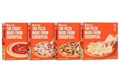 Banza unveils range of frozen pizzas featuring chickpea crusts - FoodBev Media