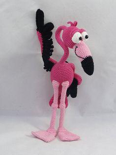 Fernando der Flamingo .........häkeln                                                                                                                                                     Mehr