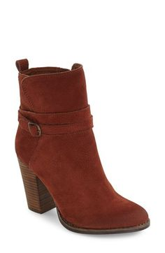 Lucky Brand Lucky Brand Latonya Belted Bootie (Women) available at #Nordstrom