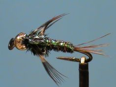 Fly Tying a Beadhead Flashback Pheasant Tail Nymph with Jim Misiura