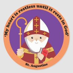 Happy Saints: Cute website to teach children about Catholic Saints! Catholic Kids, Catholic Saints, Patron Saints, Roman Catholic, Cute Website, St Monica, Chibi, Augustine Of Hippo, Religion