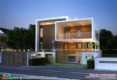 Cute Box model contemporary home