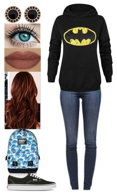 """""""Untitled #266"""" by rhay-q ❤ liked on Polyvore featuring J Brand, Superdry, Oxxo, Vans and Derriére"""