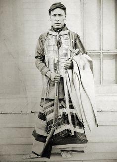 Enemy Boy- Assiniboine- born 1874. Photo taken by my 3rd Great Uncle at Fort Belknap, Montana, 1899