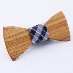 Wooden Bow Ties by Two Guys' Bow Ties