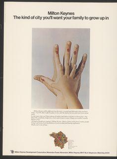 Milton Keynes poster, 1973.