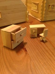 Decided to build a popsicle stick house, it got a little out of hand - Imgur