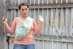 delia creates - baby sling