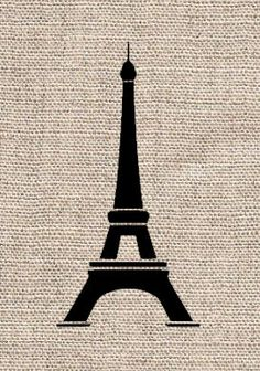 Eiffel Tower Paris Themed Vinyl Lettering Large Vinyls