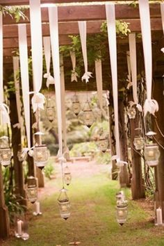 Decor for Ceremony Structures on Pinterest | Gazebo Decorations ...