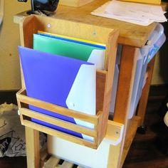 31 Days of Organizing Homeschool Stuff: Inbox & File Box