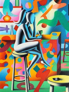 Mark Kostabi Mark Kostabi, Surrealism Painting, Surreal Art, Famous Artists, Art World, Traditional Art, Female Art, Art Pictures, New Art