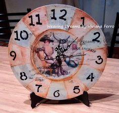Weaving Dreams by Viviana Ferro: Reloj vintage