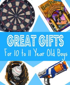 Best Gifts & Top Toys for 10 Year Old Boys in 2013 - 2014 - Christmas Birthday & Year Olds 11th Birthday, Christmas Birthday, Kids Christmas, Birthday Ideas, Christmas 2017, Birthday Fun, Xmas, Nephew Gifts, Gifts For Brother