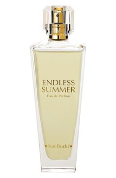 Kat Burki 'Endless Summer' Eau de Parfum | Endless Summer Eau de Parfum is a distinctive, radiant and divine fragrance with a unique presence and crisp fresh notes. Its unmistakable character, infused with zesty and sparkling bergamot, creates a glorious state of mind.
