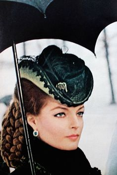 Magdorable! Romy Schneider in 'Ludwig' as the brilliant, tragic Elizabeth of Austria, Vogue US December 1972