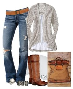 """""""Untitled #491"""" by tmlstyle ❤ liked on Polyvore featuring Frye, 7 For All Mankind, Dorothy Perkins, Goti and David Yurman"""