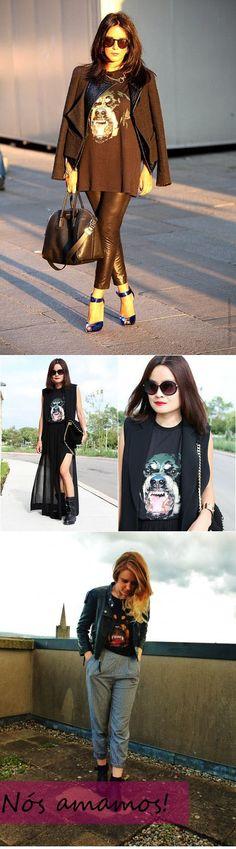 O rottweiler da Givenchy |  http://www.garotaspossiveis.com/garotas/?p=828