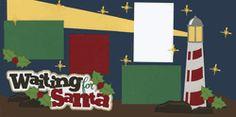 Waiting For Santa Page Kit