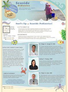 Seaside Pediatrics #Wilmington #website #pediatrician #bluetonemedia