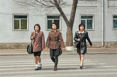 Fascinating Photos Compare Public Spaces in North and South Korea