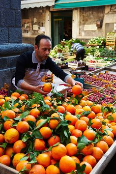 Catania, Sicily, Italy. Sicily is famous for its citrus fruit. ..my favourite. Take me there?