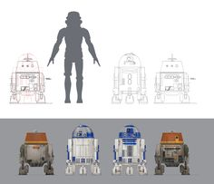 Droids in Distress Concept Art Gallery | StarWars.com