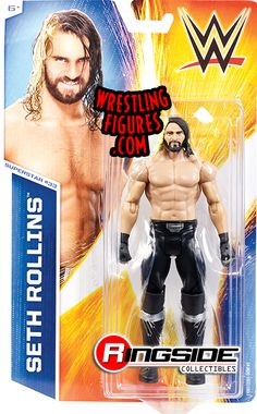 Seth Rollins - WWE Series 50 WWE Toy Wrestling Action Figure