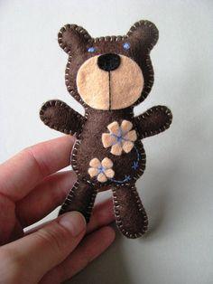 medvídek z filcu - Hledat Googlem