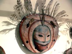Shaman's mask, Yupik people; North America department, Ethnological Museum, Berlin, Germany